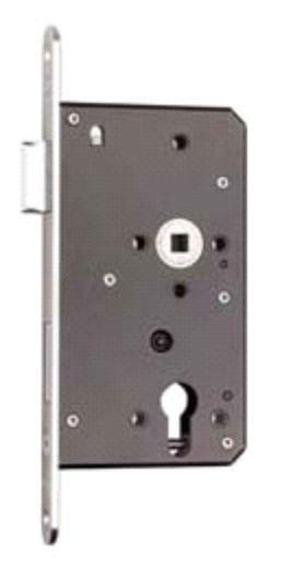 Euro Profile Sash Lock w. 60mm Backset